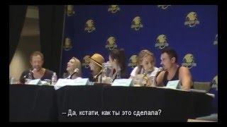 """из интервью актёров сериала """"Зов крови"""" (Dragon Con 2015)"""