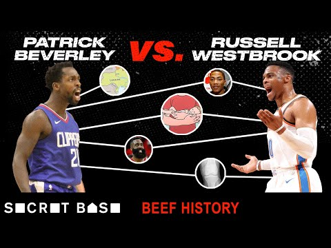 Russell Westbrook and Patrick Beverley's beef includes knee injuries, Jay-Z quotes, and baby cradles