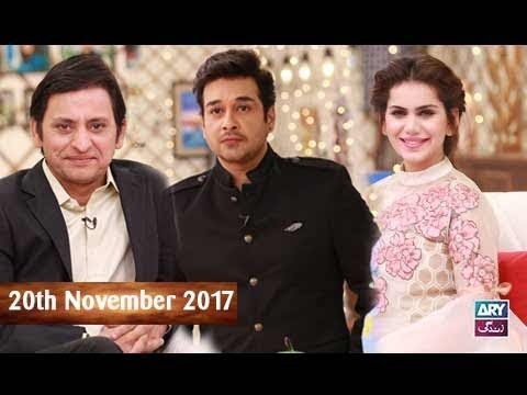 Salam Zindagi With Faysal Qureshi - Cast of Rangreza - 20th November 2017