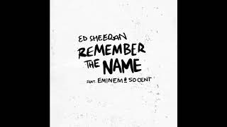 Ed Sheeran feat.  Eminem, 50 Cent - Remember The Name(DiPap USA Back In Time Remix)