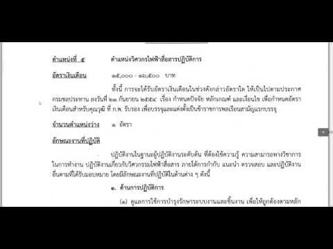 กรมชลประทาน เปิดรับสมัครสอบข้าราชการ 25 พ.ย. -17 ธ.ค. 2558