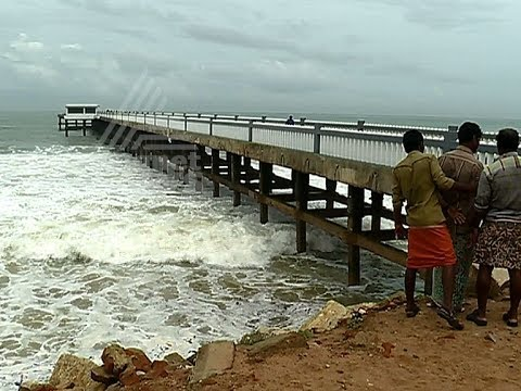 Exclusive Footage: Valiyathura Sea Bridge in critical condition