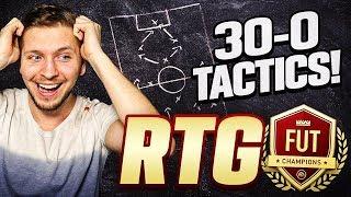 MY 30-0 GAME PLANS AND CUSTOM TACTICS - FIFA 20 FUT CHAMPIONS