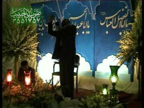 میلاد حضرت عباس(ع)-احمد واعظی - چهارم شعبان ۸۳