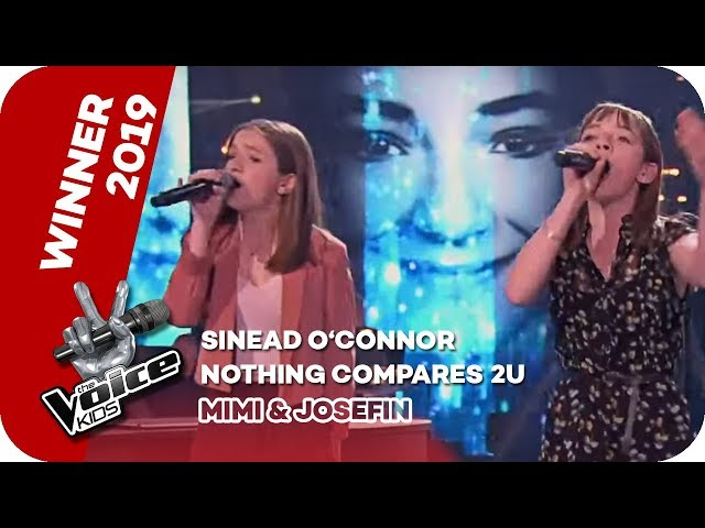 Sinéad O'Connor - Nothing Compares 2U (Mimi & Josefin) | WINNER | The Voice Kids 2019 | SAT.1
