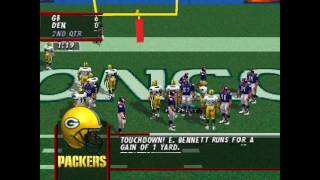 Madden NFL 98 PS1 Gameplay HD