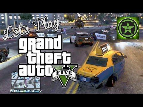 Let's Play: GTA V - Crazy Taxi