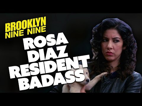Rosa The Resident Badass   Brooklyn Nine-Nine   Comedy Bites