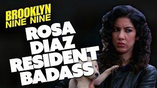 Rosa The Resident Badass | Brooklyn Nine-Nine | Comedy Bites