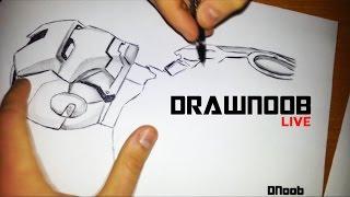 How to Draw [Iron Man] / Как нарисовать Железного Человека(How to Draw [Iron Man] / Как нарисовать Железного Человека Если вам нравиться, подписываемся, и ставим палец вверх!..., 2015-12-18T23:54:49.000Z)