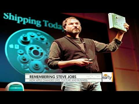 The Early Show - Influence of Jobs, Apple on society