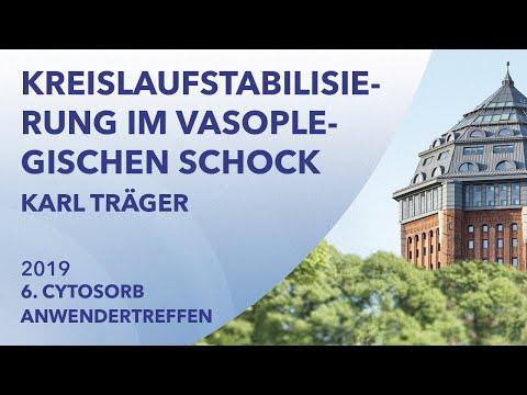 CytoSorb zur Kreislaufstabilisierung im vasoplegischen Schock | Karl Träger