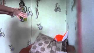 Телекинез(видео наоборот)