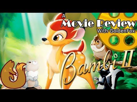 Bambi II (2006) | A Movie Review with GoldenFox