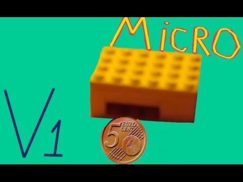 Lego Candy Machine: MICRO! (takes money) - YouTube
