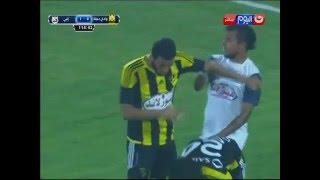 كأس مصر 2016 | لاعبى وادى دجلة يعتدون بالضرب على اللاعب ماريو مارتينيز