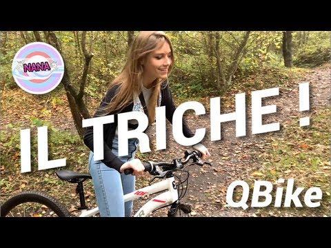 QBike [VLOG] : Challenge VTT, il triche !