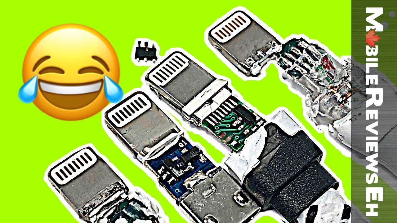 small resolution of are all iphone lightning cables created equal charge tests tips for fake cables tear downs