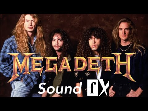 Megadeth on Sound FX 1995