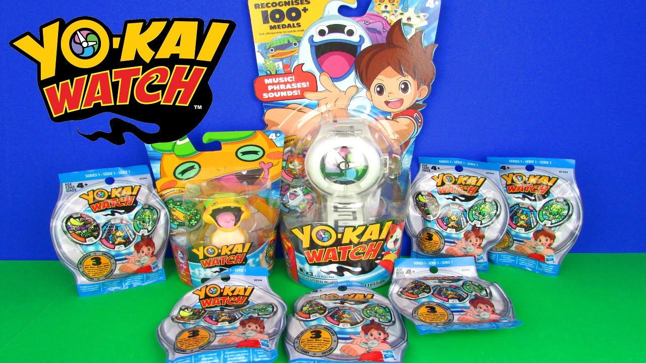 Ultimate Yo Kai Watch Toys Unboxing Medals Surprises Blind