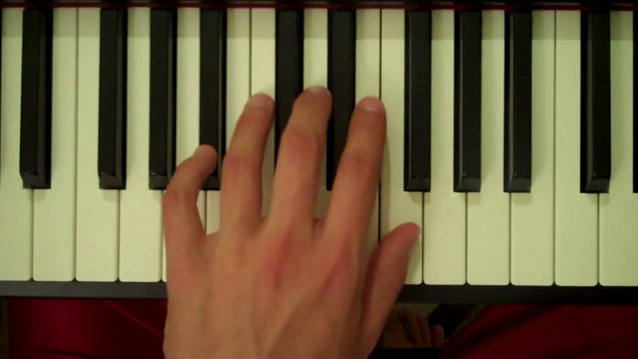 D Flat Major Chord Piano How To Play a Bb Major...