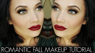 Romantic Fall Makeup Tutorial | SHAE