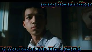 Download Dj You Broke Me First (256k)
