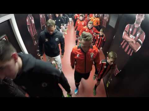 Tunnel Cam: Take a candid look inside the tunnel from AFC Bournemouth v Chelsea