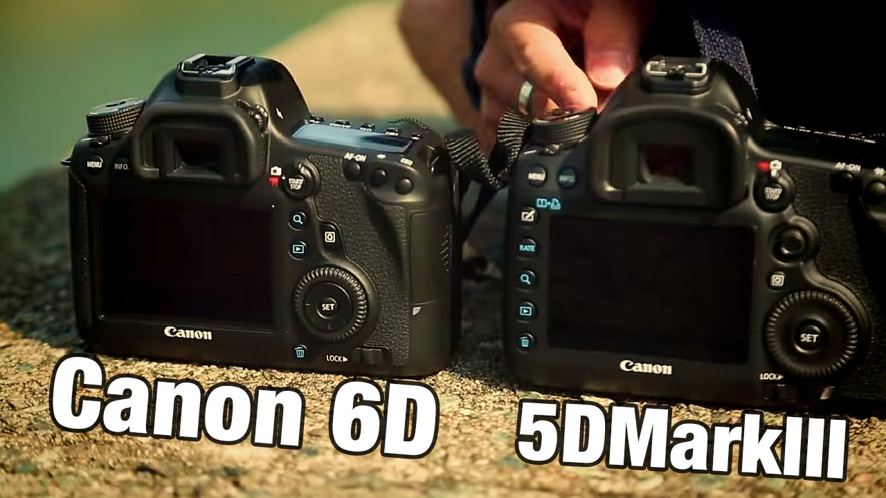 Canon EOS 6D против 5D Mark III - Что купить? [DigitalRevTV] - YouTube