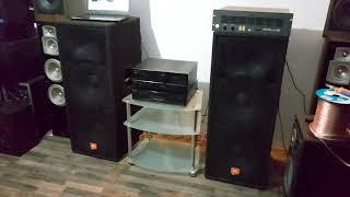 Jbl Mp225 Mpro 2x2000w 4x15' + Dynacord S 900 2x450w