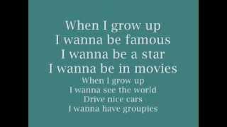 Pussycat Dolls When I Grow Up Lyrics