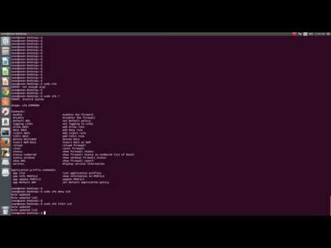 How to install UFW Ubuntu Firewall
