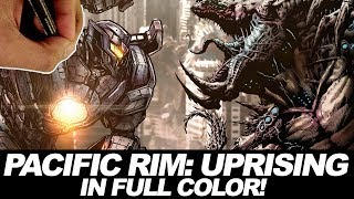 PACIFIC RIM: UPRISING FULL COLOR COLLAB with ZHCOMICART!