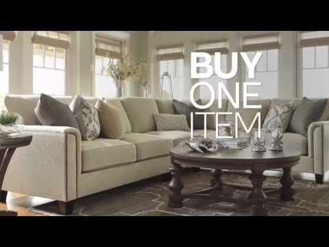 ashley furniture springfield mo bogo sale youtube. Black Bedroom Furniture Sets. Home Design Ideas