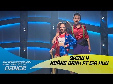 Purple Lamborghini - Hoàng Oanh & Gia Huy // Hip-hop - Show 4 - Thử Thách Cùng Bước Nhảy 2016