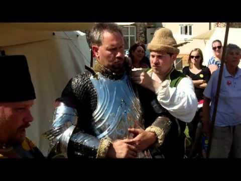 Knights Tourney Of Foot At Framlingham Castle 2012