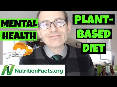 DEPRESSION WARNING, MENTAL HEALTH, LIFESTYLE & DIET | Dr. Michael Greger Nutritionfacts.org