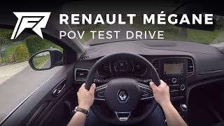 2017 Renault Mégane TCe 100 - POV Test Drive (no talking, pure driving)