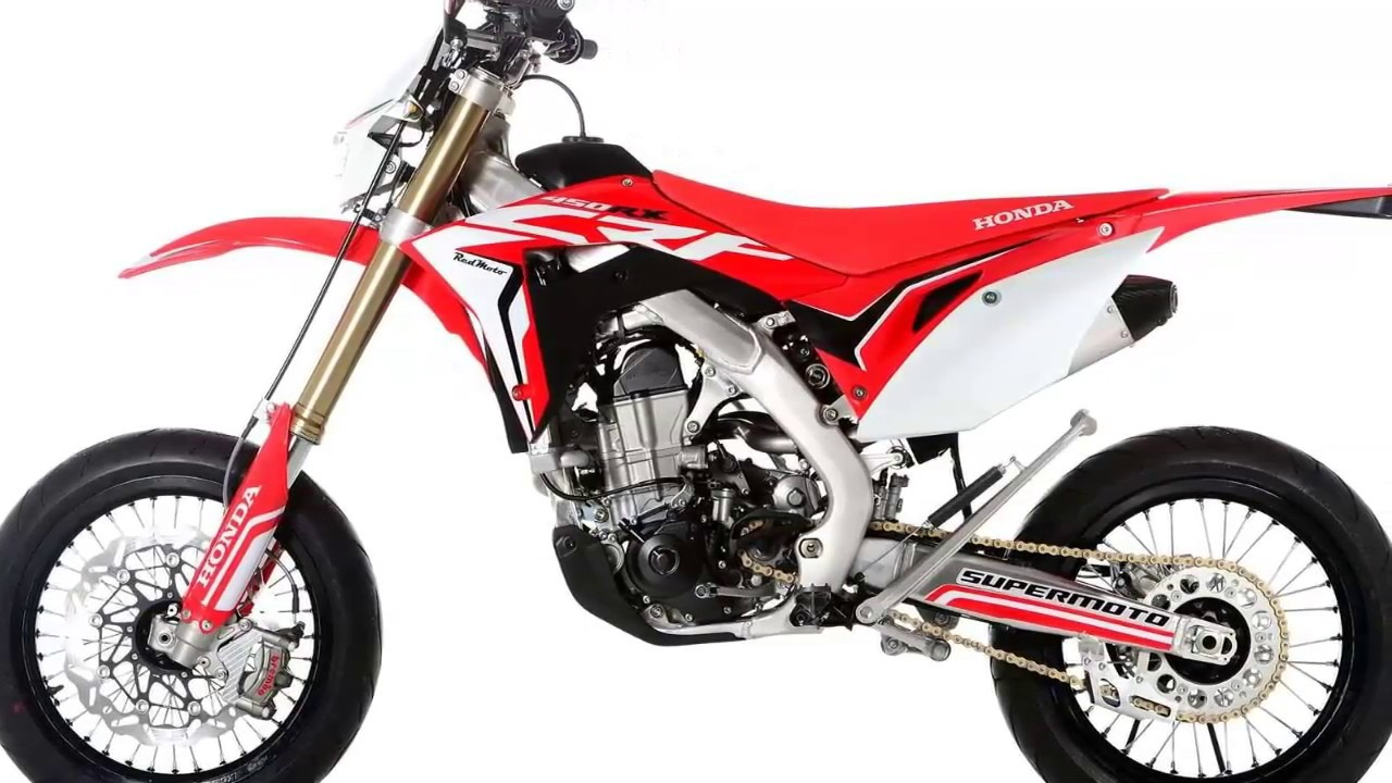 Honda Crf Supermoto 2017 Youtube