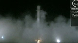 SpaceX впервые успешно посадила первую ступень ракеты Falcon 9
