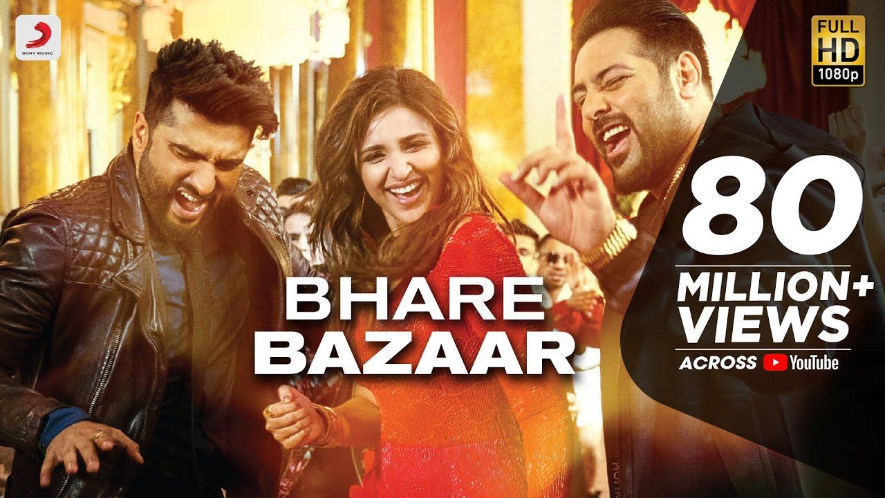 Image result for Bhare Bazaar Namaste England Arjun Parineeti Badshah Rishi Rich Vishal Dadlani Payal Dev