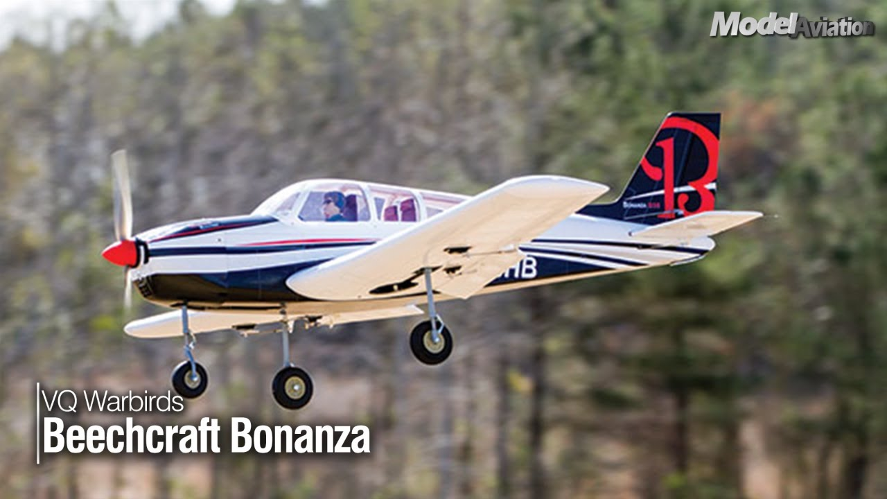 VQ Warbirds Beechcraft Bonanza - Model Aviation magazine