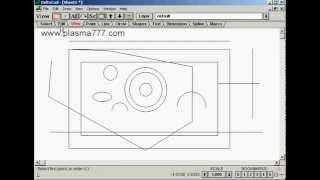 Cnc Plasma Cutting Diy Plans Preparing Dxf File Using Delta Cad
