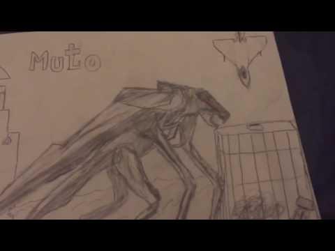 All My Godzilla drawings part 2| HUGE IMPROVEMENT!!