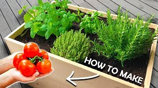 How to Make a Planter Box at Home | Growing your own Vegetables