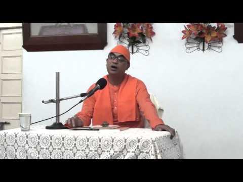 Swami Tattwavidananda speaks on Mundaka Upanishad (Part 1)