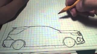 """""""как нарисовать машину часть 3"""""""