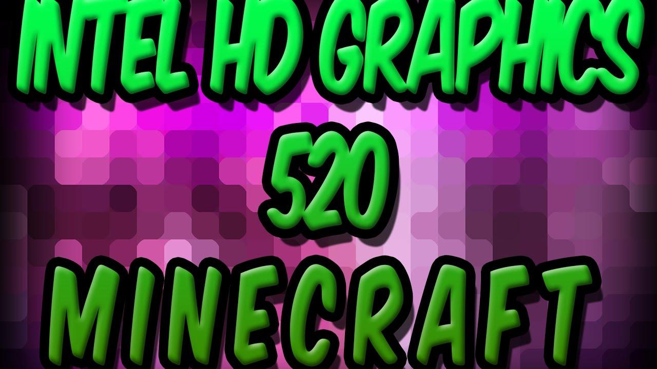 minecraft test intel hd 520 graphics minecraft 1 8 optifine youtube. Black Bedroom Furniture Sets. Home Design Ideas