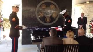 American flag folding and presentation