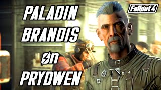 Fallout 4. Paladin Brandis is back Meeting Brandis after he rejoins the Brotherhood of Steel